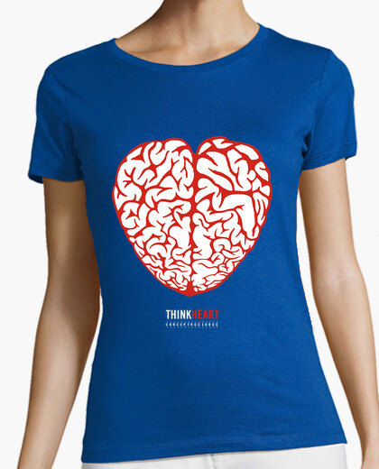 T-shirt think cuore 02