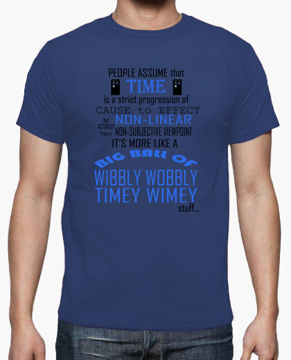 T-shirt timey wimey - dr. who