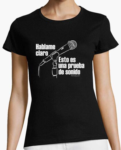 T-shirt tmfs003_prueba_sonido