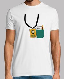 t-shirt unisex - editor di ukulele back