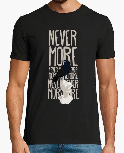 T-shirt unisex - never più