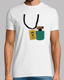 t-shirt unisex - photopass ukelele back