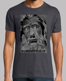 t-shirt unisexe - corred fou