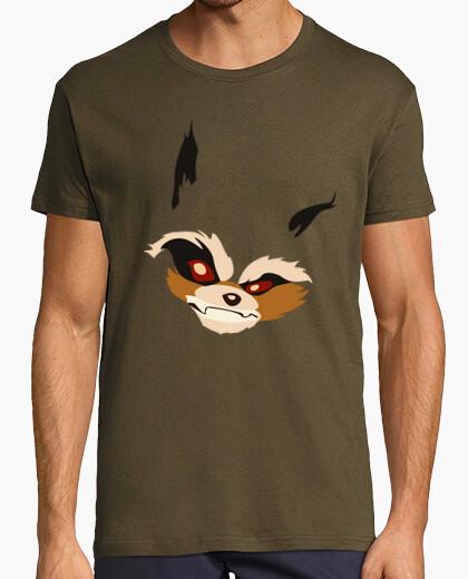 Tee-shirt t-shirt unisexe - fusée racoon