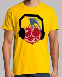 t-shirt unisexe - grenade