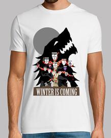 t-shirt unisexe - maison stark