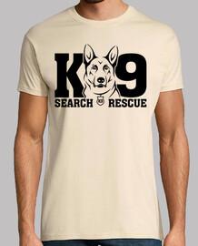 t-shirt unità k9 mod.20