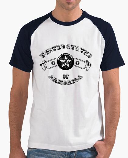 T-shirt università - baseball uomo