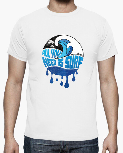 T-Shirt Uomo - ALL YOU NEED IS SURF