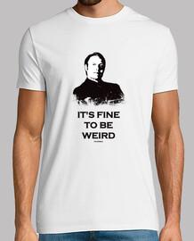 t-shirt uomo hannibal: il suo bello essere strano