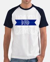 T-shirt uomo, manica corta, stile baseball