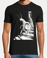 T-shirt uomo, manica corta, stile vintage