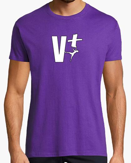 T-shirt Uomo, manica corta, viola,...