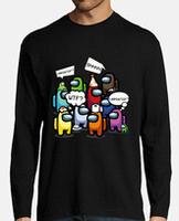 T-shirt uomo, manica lunga