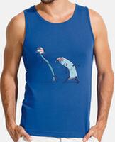 T-shirt uomo senza maniche