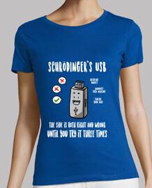 t-shirt usb de schrödinger