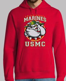 t-shirt usmc bulldog mod3