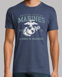t-shirt usmc marines mod.12