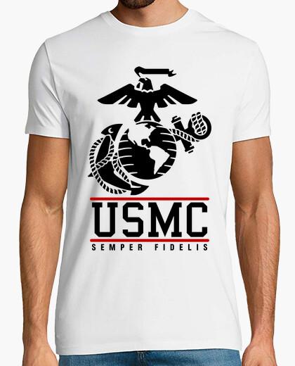 Tee-shirt t-shirt usmc marines mod.6