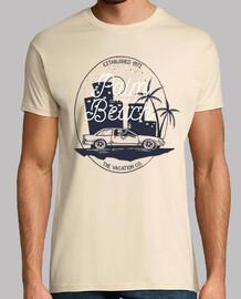 t-shirt vacation beaches cars 1972