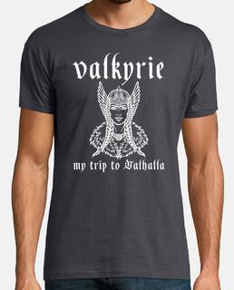t-shirt valkyrie, mon voyage à valhalla