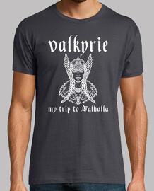 t-shirt Valkyrie, my trip to valhalla