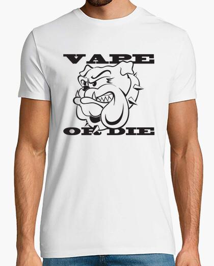 T-shirt vape o morire