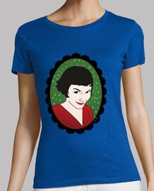 t-shirt verde amelie
