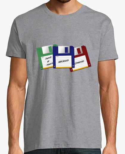 T-shirt videogiochi vintage