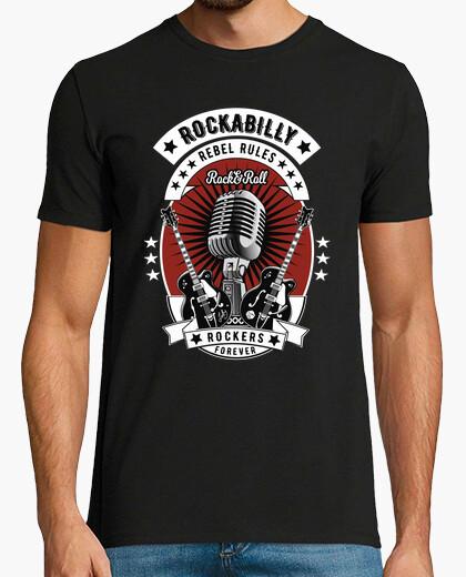 T-shirt vintage 1950er 60s rockabilly usa
