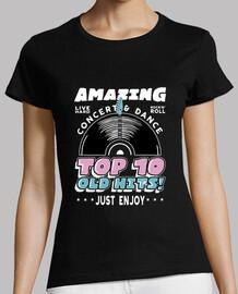 t-shirt vintage anni '50 anni '60 rockabilly usa