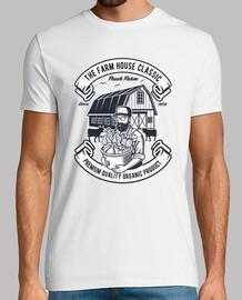 t-shirt vintage de fermier rétro 1973