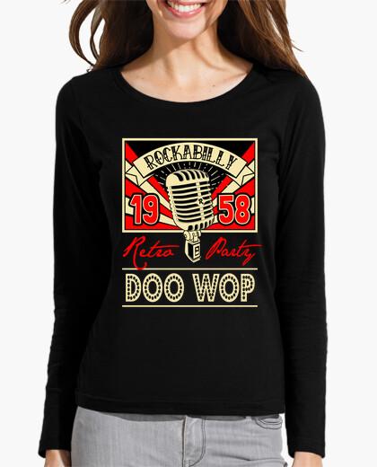 T-shirt vintage doo wop music 1958 rockabilly retro usa rock and roll 1950s