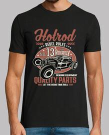 t-shirt vintage hot rod rockabilly