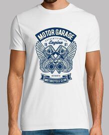 t-shirt vintage motociclisti 1981 motorcycle club