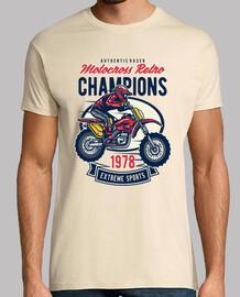 t-shirt vintage motocross 1978 racing