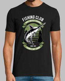 t-shirt vintage pescatore di club