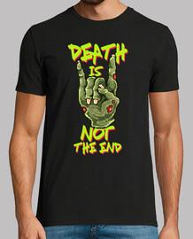 t-shirt vintage pixel art horror zombies vintage anni '80 e 'morte not è la fine