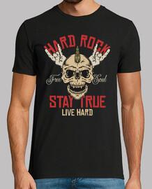 t-shirt vintage rock skull challenge rock and roll des années 70 des années 80