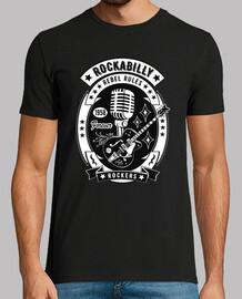 t-shirt vintage rocker rockabilly musica forever vintage rock e roll usa 1958