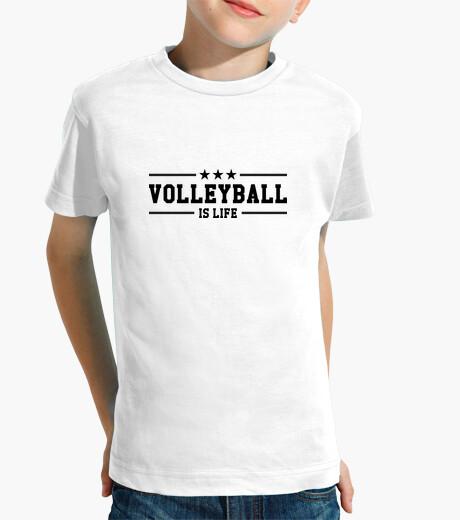 Kinderbekleidung t-shirt volleyball - sport