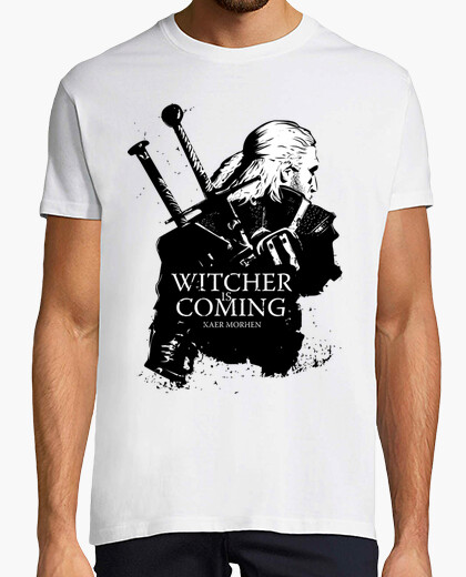 T-shirt Witcher Is Coming