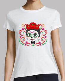 t-shirt woman, short sleeve, white, premium quality