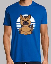 t-shirt yoga berger allemand