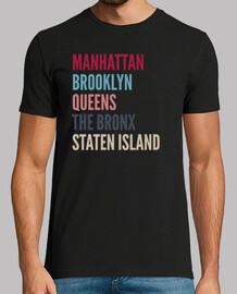 t-t-shirt apriti di nu eva york