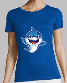 t-t-shirt bebè shark