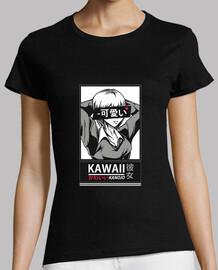 t-t-shirt da ragazza kawaii