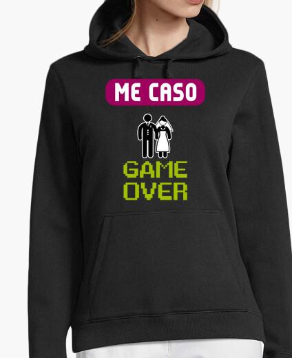 Felpa t-t-shirt gallina game over