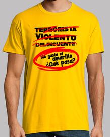 t-t-shirt gialla