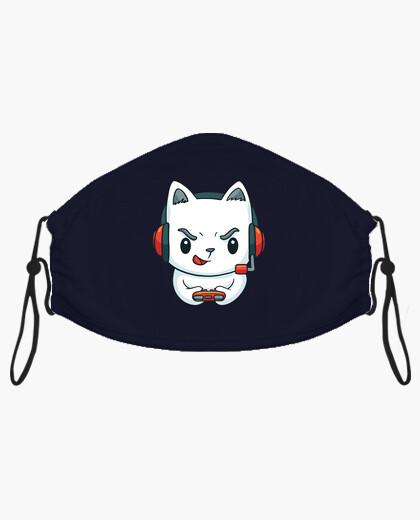 Mascherina t-t-shirt kitten giocatore